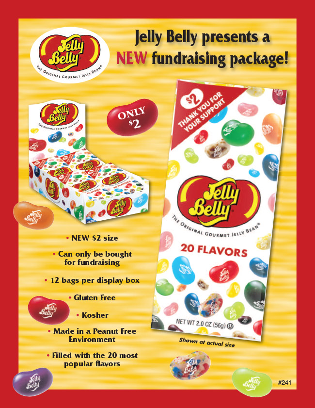 Jelly Belly $2 Direct Seller